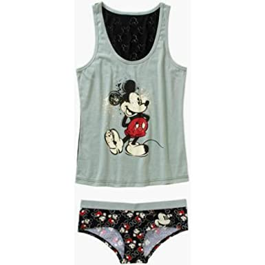 8ad35a1adb868 Disney Mickey Mouse Cami and Panty Sleep Set For Women (XL) at ...