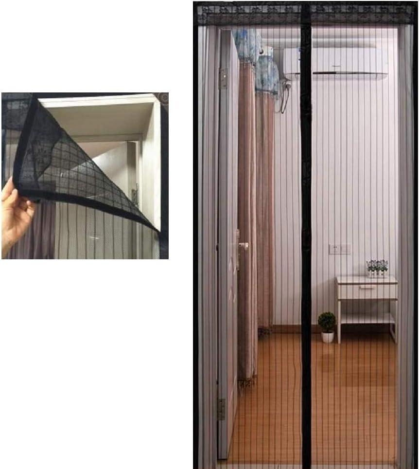 DGSD Puerta mosquitera magnética con imanes/Cortina magnética Premium con mosquitera y mosquitera mosquitera para Puertas: Amazon.es: Hogar