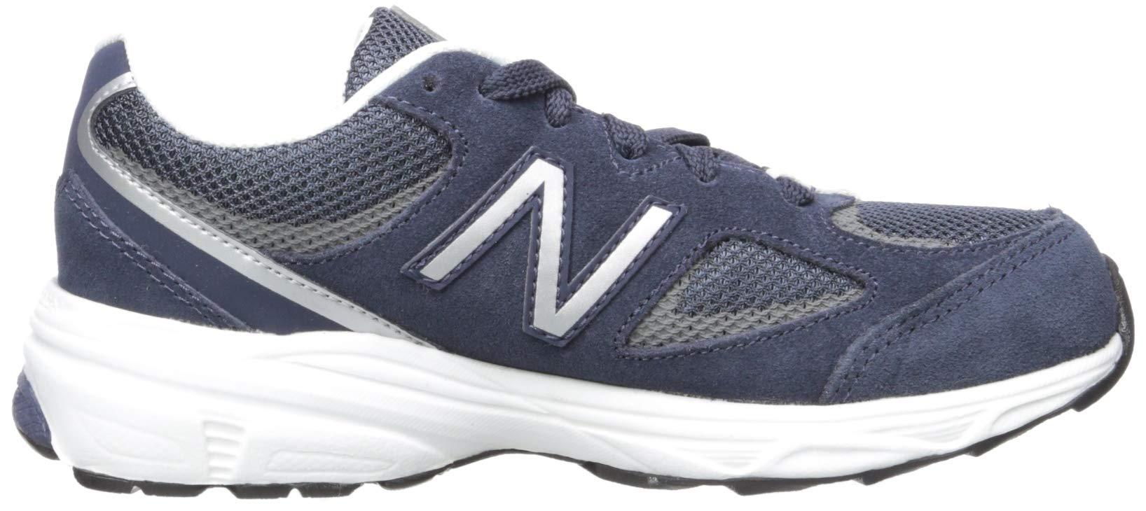 New Balance Boys' 888v2 Running Shoe, Navy/Grey, 2.5 M US Little Kid by New Balance (Image #7)