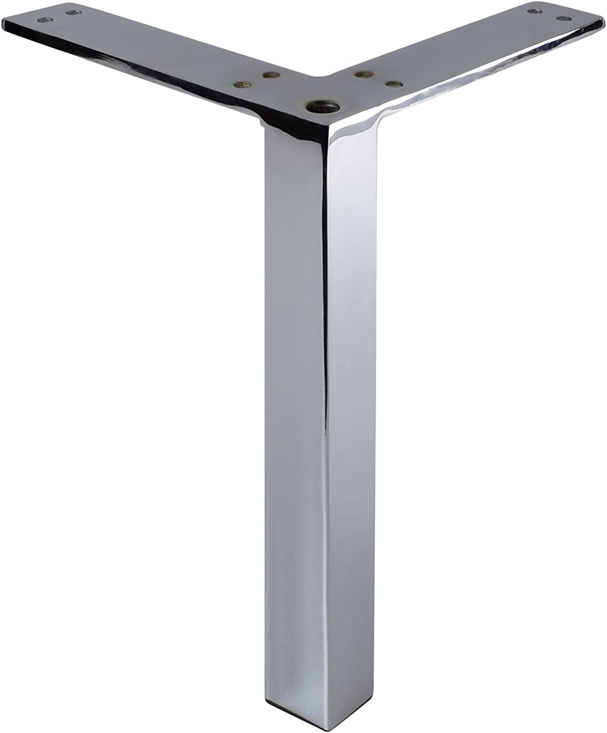 FREE P/&P NEW CHROME METAL FURNITURE FEET LEGS AVAILABLE IN 6 VARIOUS DESIGNS