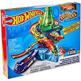 Hot Wheels Com Estação Cientifica Mattel Multicor