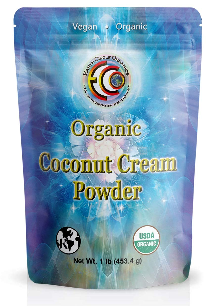Earth Circle Organics Coconut Cream Powder 1 lb