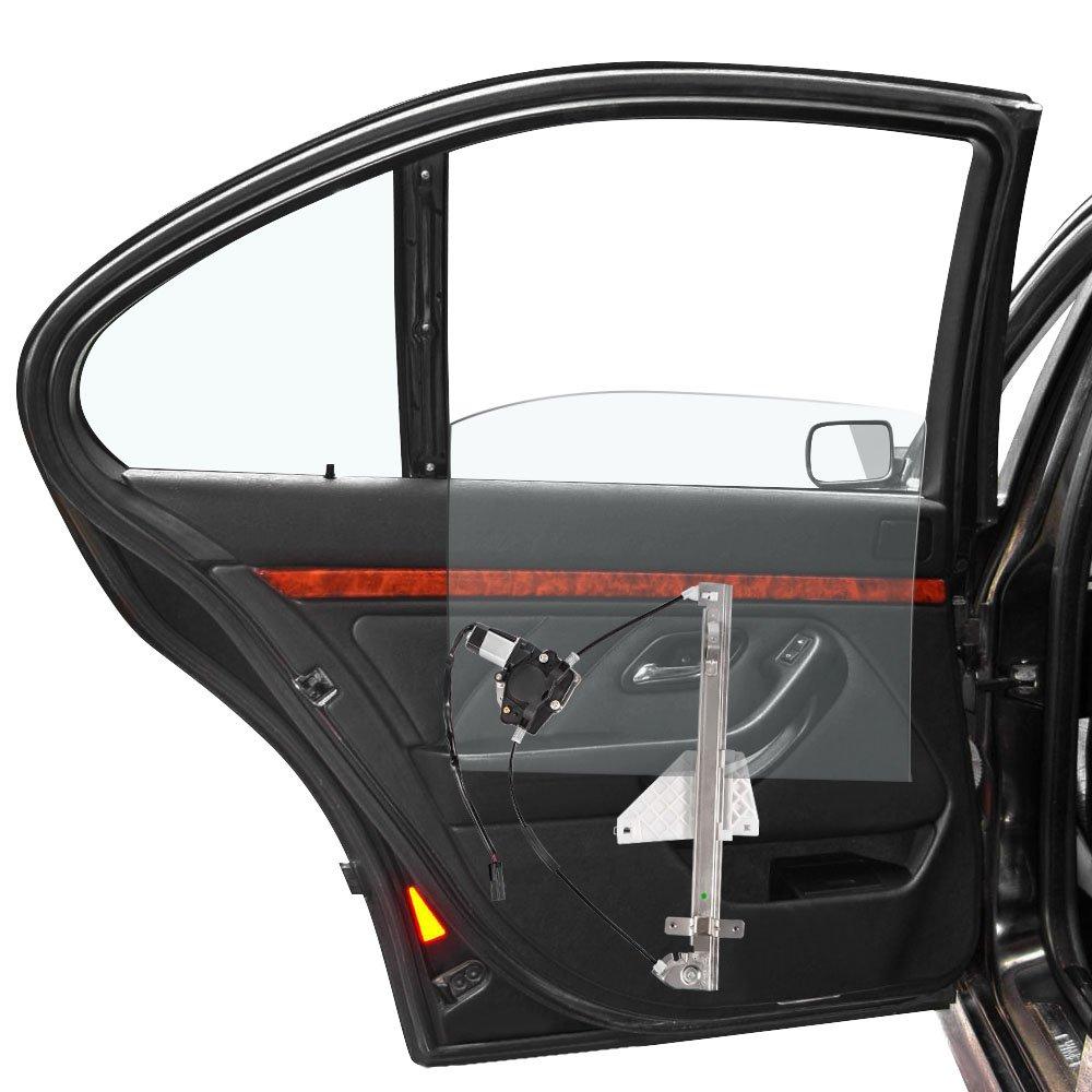 Gldifa Rear Right Power Window Regulator and Motor Assembly fit 2001-2004 Grand Cherokee 1pc