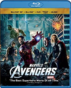 Cover Image for 'Marvel's The Avengers (Four-Disc Combo: Blu-ray 3D/Blu-ray/DVD + Digital Copy + Digital Music Download)'