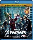 Marvel's The Avengers (4-Disc + Music Download) [Blu-ray 3D + Blu-ray + DVD + Digital Copy] (Bilingual)