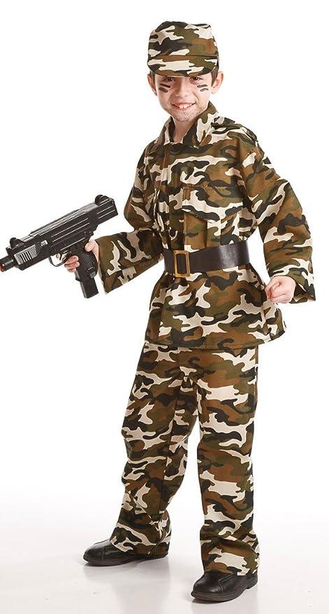 Disfraz de Militar para niños