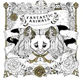 img - for Fantastic Animals: Coloring Book of Fantastic Journey Through Dreams book / textbook / text book