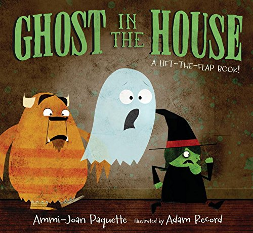 Ghost in the House: A Lift-the-Flap Book (Number One Sala 2 Halloween)
