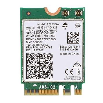 1.73Gbps Tarjeta de Red Antena Dual Inalámbrico,2.4G/5G ...