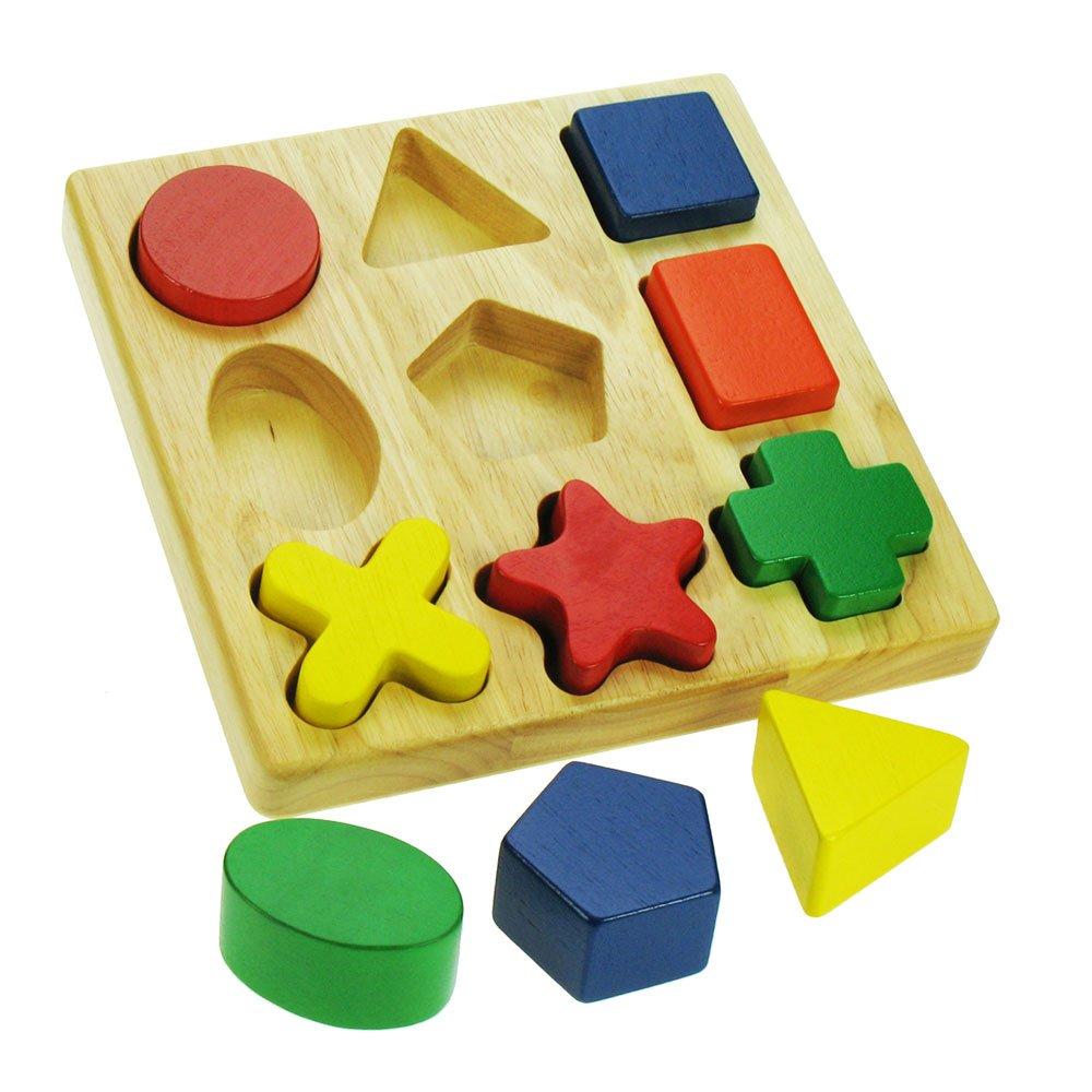 Top Santoys ST114 - Puzzle con 9 forme geometriche: Amazon.it: Giochi  DB79