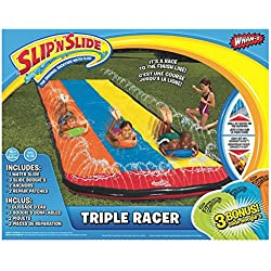 Wham-O Slip N' Slide Triple Racer with Slide Boogie Board