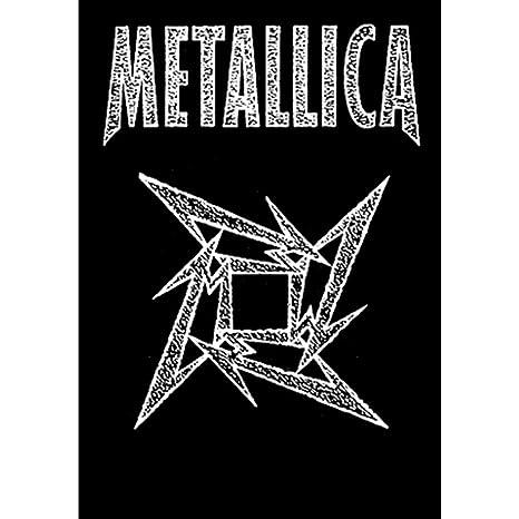 Amazon.com: Metallica – Ninja Star – Póster de tela 30 x 40 ...
