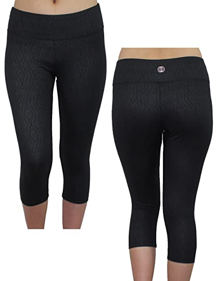 28908fad4c2d8 Balance Collection (By Marika) Womens Skinny Leggings / Yoga Capri Pants L  Black