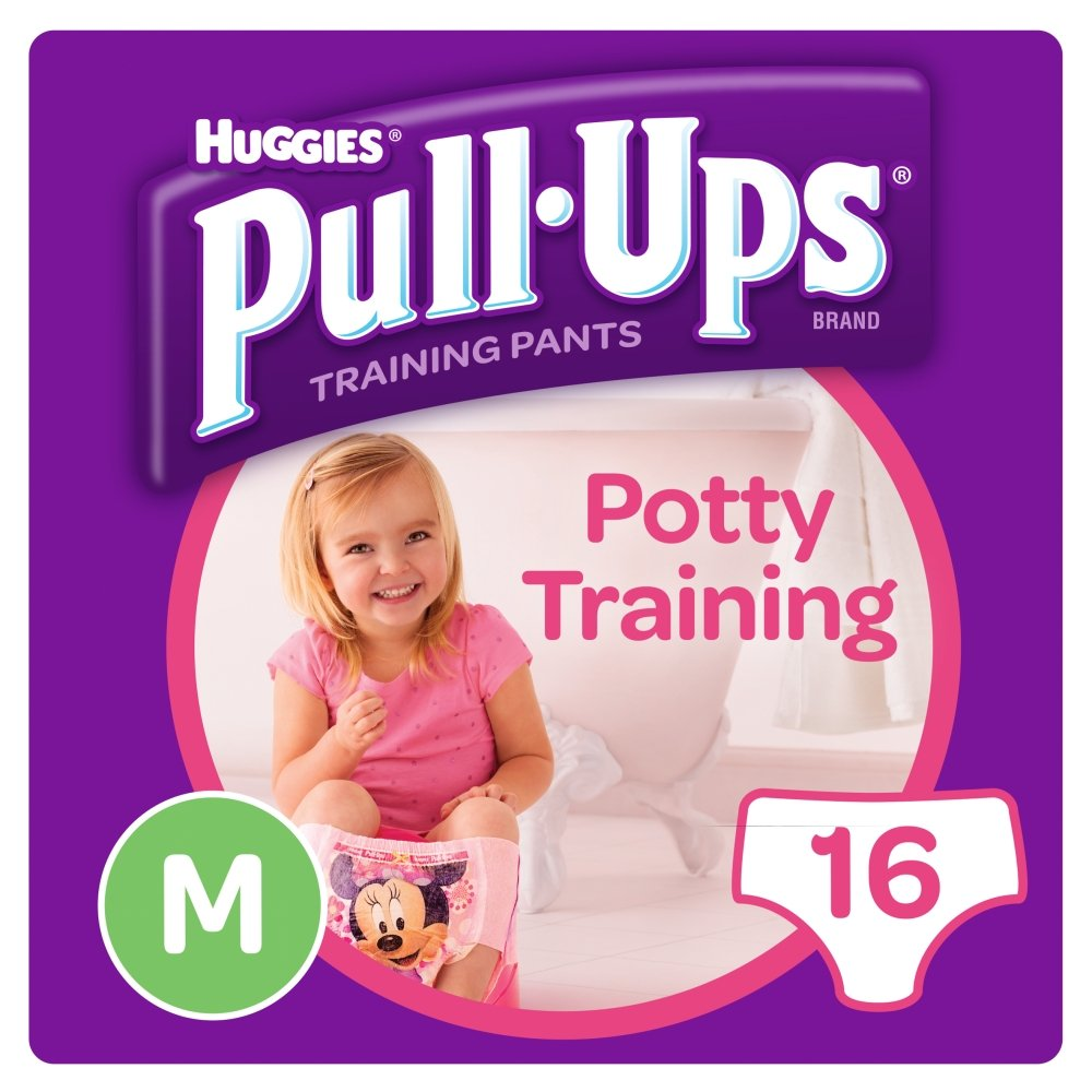 Huggies Pull Ups Day Time Potty Size Medium Training Pants Girls, 10 to 18 kg Kimberly-Clark Ltd 108953410