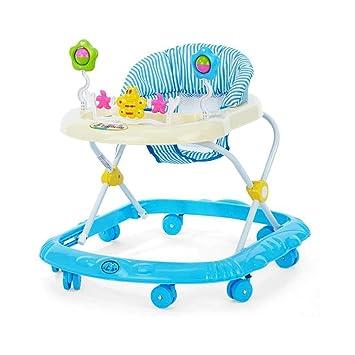ZHAOJING Paseantes Para Bebés Bebé 6 / 7-18 Meses Andadores Multifunción Antideslizantes Ruedas Para Carritos Andador (Color : Azul) : Amazon.es: Hogar