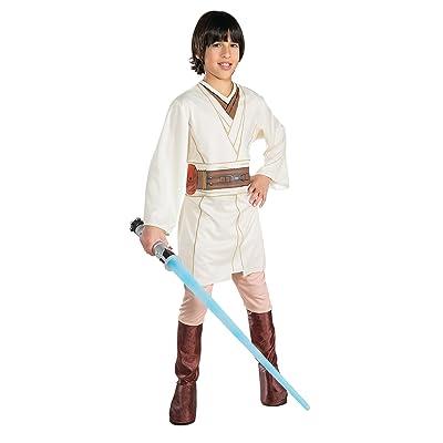 STAR WARS Obi-Wan Kenobi Halloween kid's Medium Costume (8-10): Toys & Games