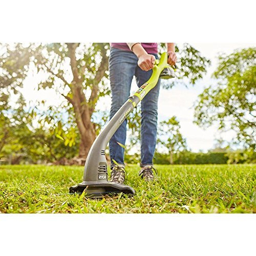 ONE+ 18-Volt Lithium-Ion Electric Cordless String Trimmer and Edger P2030 - 1.3 Ah Battery and Charger Included