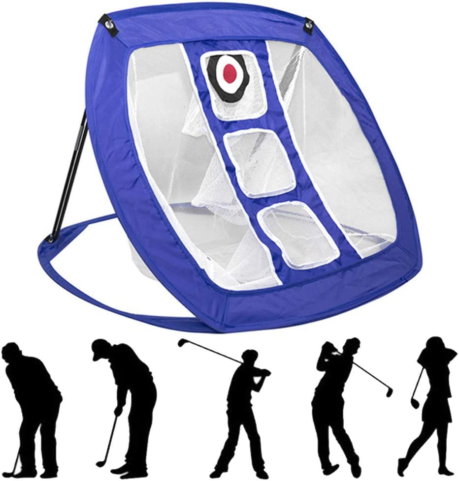Golf Practice Net, Golf Indoor Outdoor Chipping Pitching Cages, Jaulas Portátiles Para Prácticas De Golf Esteras, Interior Al Aire Libre Echada Sala Estar Portátil Inicio Golpear En Casa Práctica