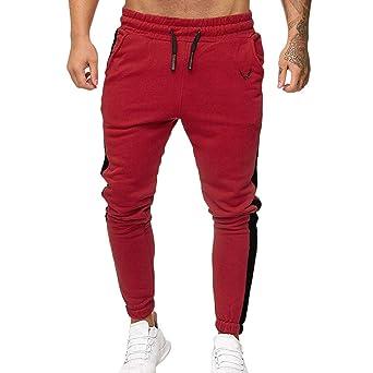 FELZ Pantalón Comodo Hombre, Pantalones Largos Deportivos con ...