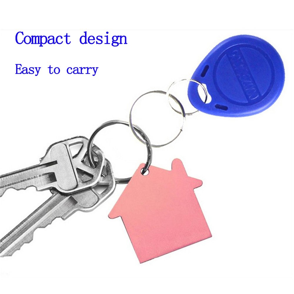 OBO Hands EM4305 Copy Rewritable Writable Duplicate RFID Tag 50 Can Copy EM4100 125khz Card Proximity Token Keyfobs