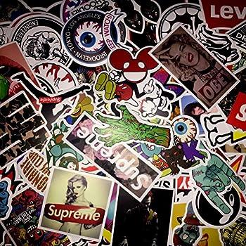 Amazon Com Not Random 100 Piece Skateboard Stickers