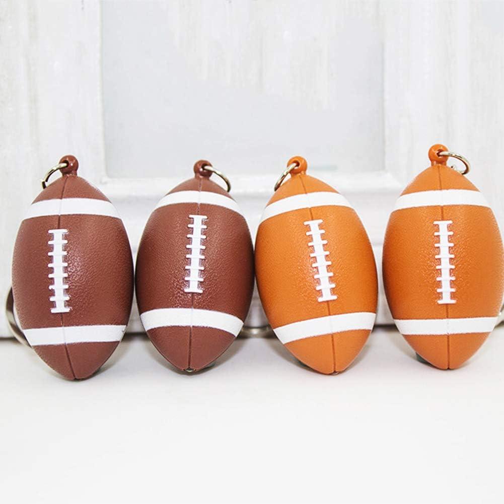 Taschen-Dekoration Geburtstagsgeschenk h/ängend Sound Schl/üsselanh/änger NUIO nuiOOui131 Schl/üsselanh/änger mit lustigem Rugby-Anh/änger