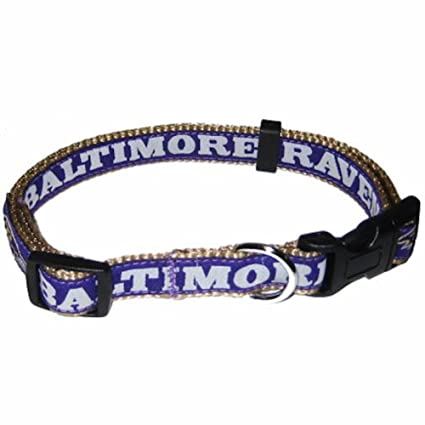 lowest price 2863f 1d5e4 Pets First NFL Dog Collar. 32 NFL Teams Available in 4 Sizes. Heavy-Duty,  Strong & Durable NFL PET Collar. Football Gear for The Sporty Pup.