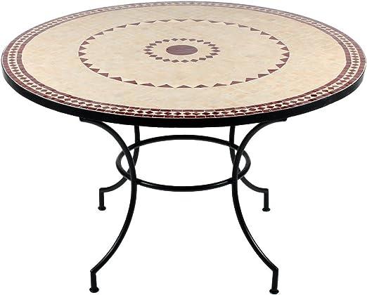 albena Marokko Galerie Marrakesch Bidhan Table mosaïque Ø ...