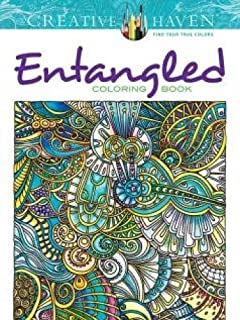 Creative Haven Entangled Coloring Book (Creative Haven Coloring Books) (0486793273) | Amazon Products