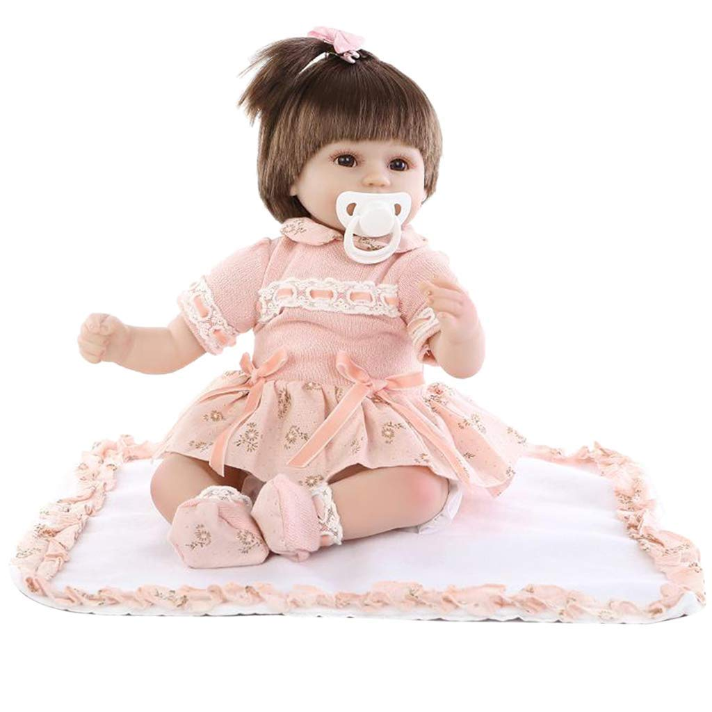 Tubayia Realistische Vinyl Babypuppe Neugeborenen Puppe mit Kleidung für Kinder Rollenspiele Spielzeug Geschenk B07NQ38RCK Babypuppen Berühmter Laden | Kaufen Sie beruhigt und glücklich spielen