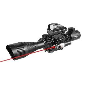 Pinty Rifle Scope 4-12x50EG Rangefinde