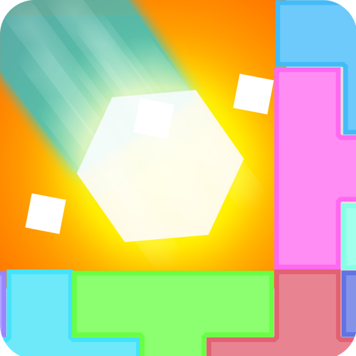 hexagon-crush-tower-balancing-puzzle-game-with-six-sided-hexagon