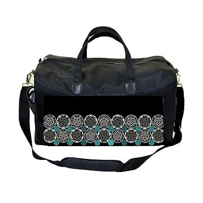 Floral Circles Weekender Bag
