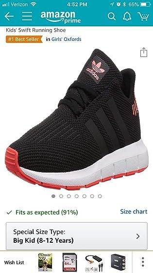 adidas Originals Kids' Swift Running Shoe Color varies?