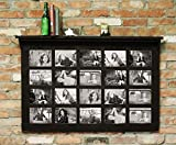 41.5'' X 27.5'' Barn Window Multi-Picture Frame with Shelf Homesteader Style--Fits 20 5 X 7 pictures