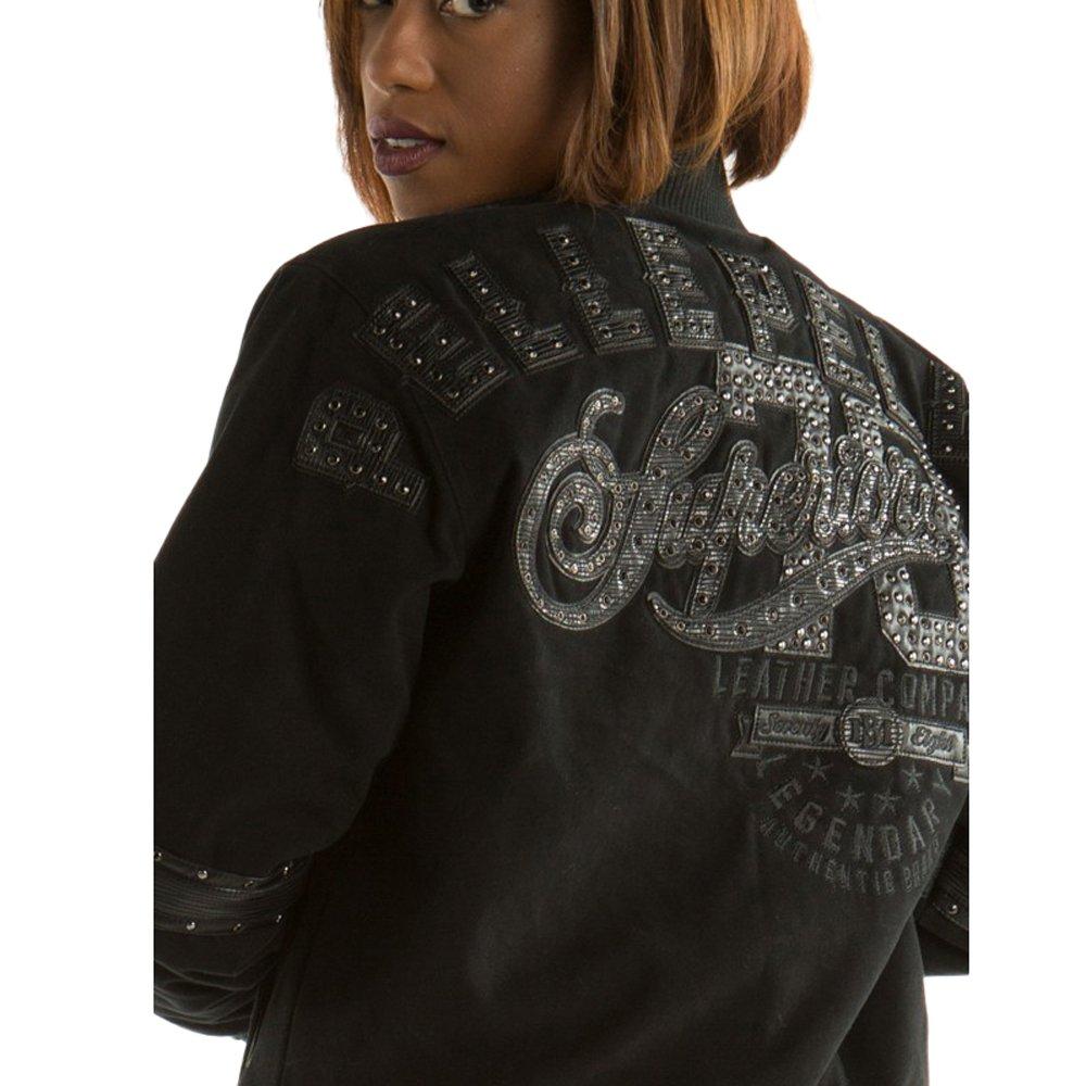 364edced4 Pelle Pelle Women's Superior Cotton Twill Jacket (M, Black) at ...