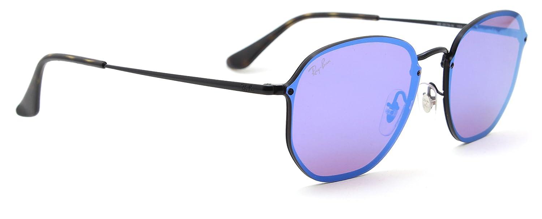 599eb48a1a0 Amazon.com  Ray-Ban RB3579N BLAZE HEXAGONAL Mirror Sunglasses 153 7V ...