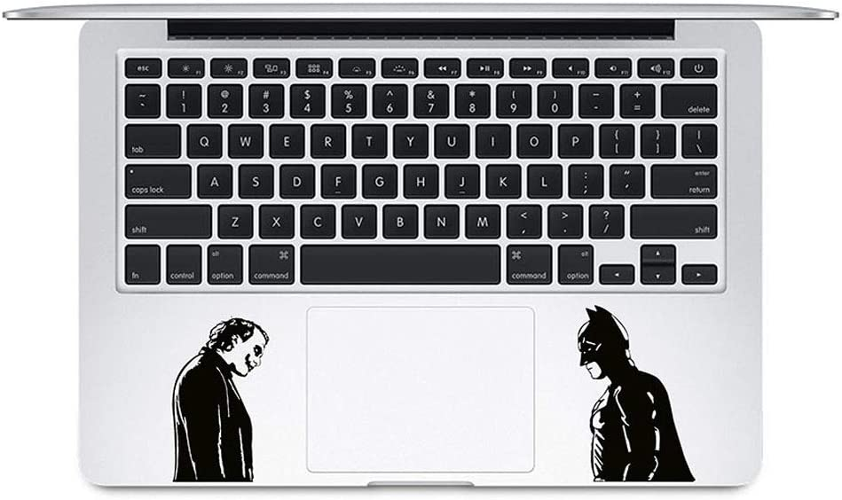 Joker and Batman Sticker for laptops MacBooks Cars or Any Smooth Surfaces