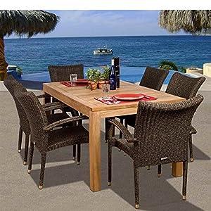 617x8UFIRjL._SS300_ Teak Dining Tables & Teak Dining Sets