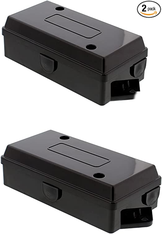Abn Electrical Wire Connectors Junction Box 2-Pack Trailer, Camper, on