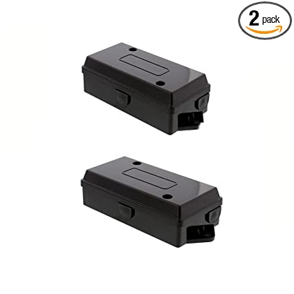 Groovy Abn Electrical Wire Connectors Junction Box 2 Pack Trailer Camper Rv Light 7 Gang Pole Automotive Wiring Rewiring Wiring Cloud Oideiuggs Outletorg
