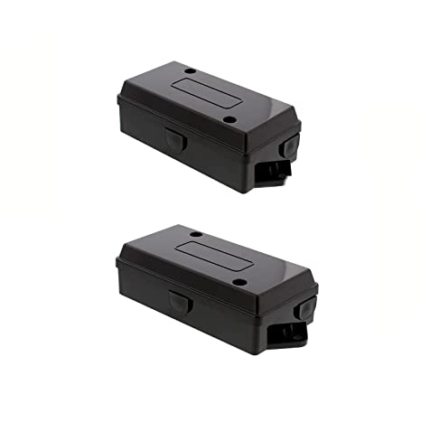 abn electrical wire connectors junction box 2 pack trailer, camper, rv light 7 gang pole automotive wiring rewiring Cable Box Equipment