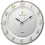 リズム時計工業(Rhythm) 白 Φ33x5cm ディズニー くまのプーさん 掛け時計 電波時計 M542 8MY542MC03