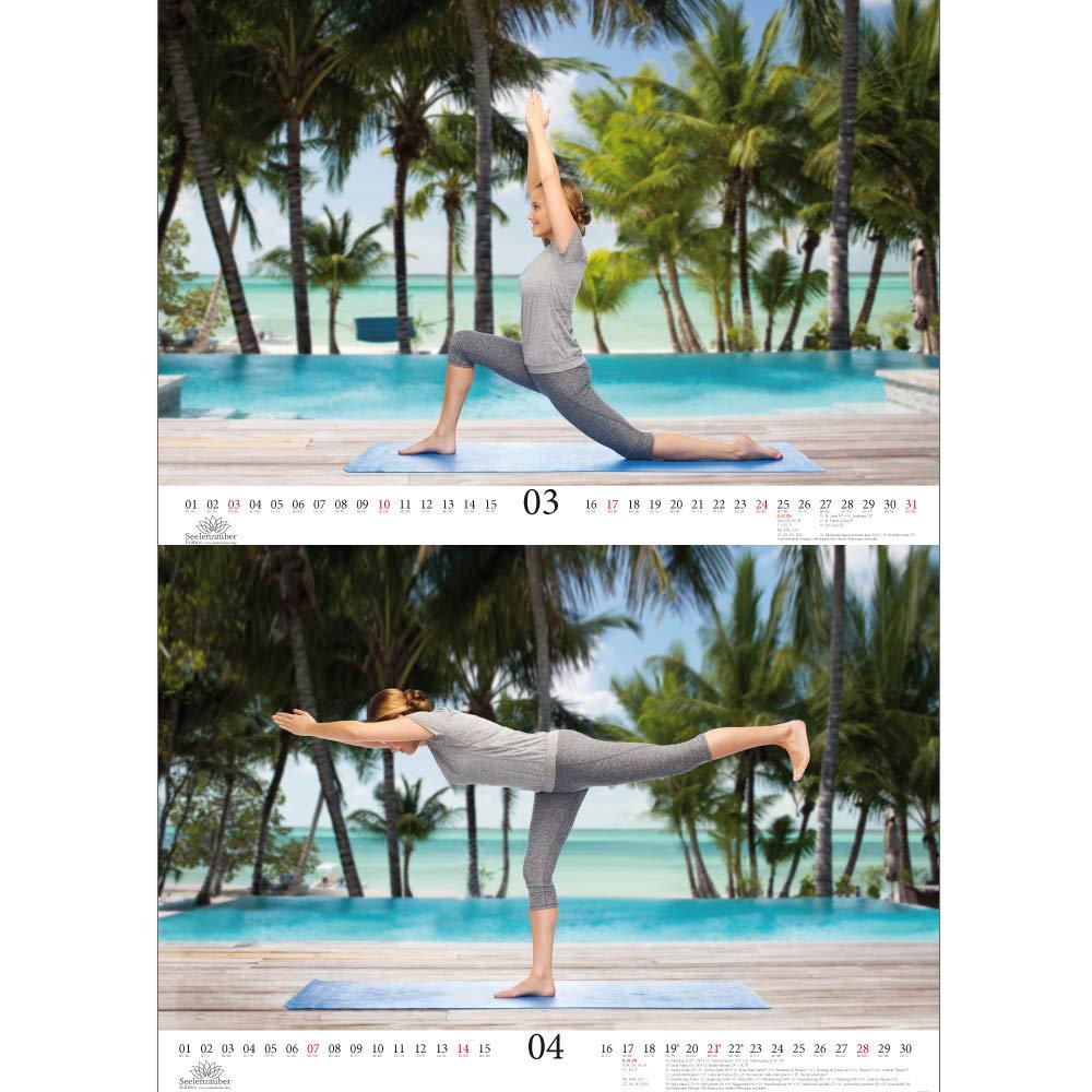 Yoga magique - Format A3 - Haute Calendrier 2019 - Sport ...