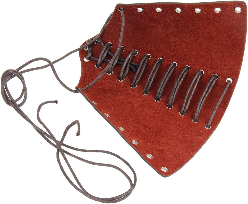 Baoblaze Leder Armschutz lang Armband Armstulpe Armschoner Schutzausr/üstung f/ür Radfahrer Motorradfahrer