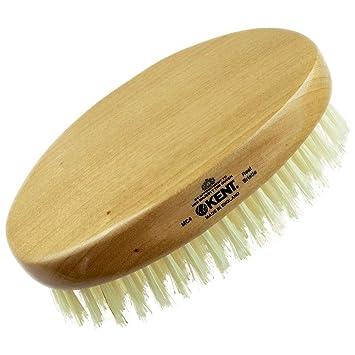 Amazon Com Kent Mc4 Finest Men S Hair Brush And Facial Brush For
