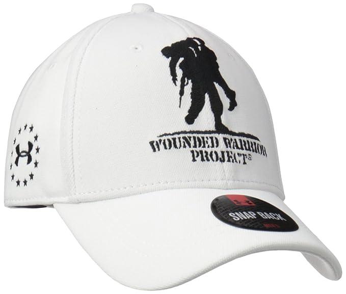 c39644134c8 Amazon.com  Under Armour Men s WWP Snapback Cap  Sports   Outdoors