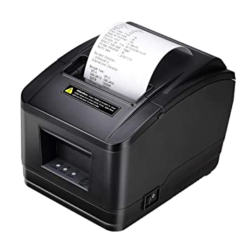 [Actualización 2.0] MUNBYN Impresora Térmica de Ticket Tikitera de Recibo 200 mm/s Cajón de Efectivo Auto-Cut, USB de Alta Velocidad, ESC/POS Set-EU ...