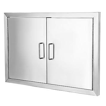 Amazon.com : Happybuy Double Door Stainless Steel Flush Access Door ...