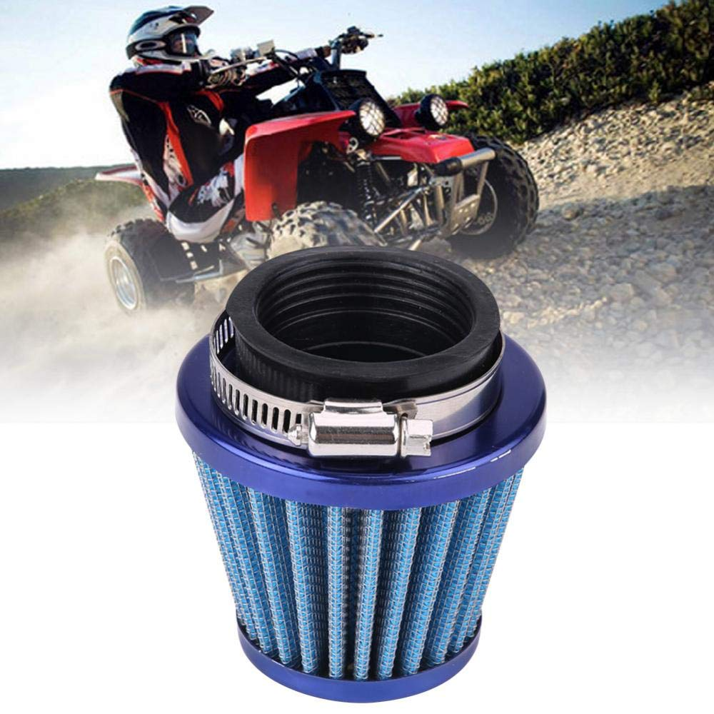 Air Filter for Gy6 150cc ATV Quad 4 Wheeler Go Kart Buggy Scooter Moped HIgh Flow Ejoyous 44mm Motorcycle Clamp-On Air Intake Filter Kit Blue